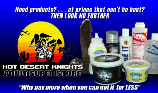 Hot Desert Knights | Gay Super Store